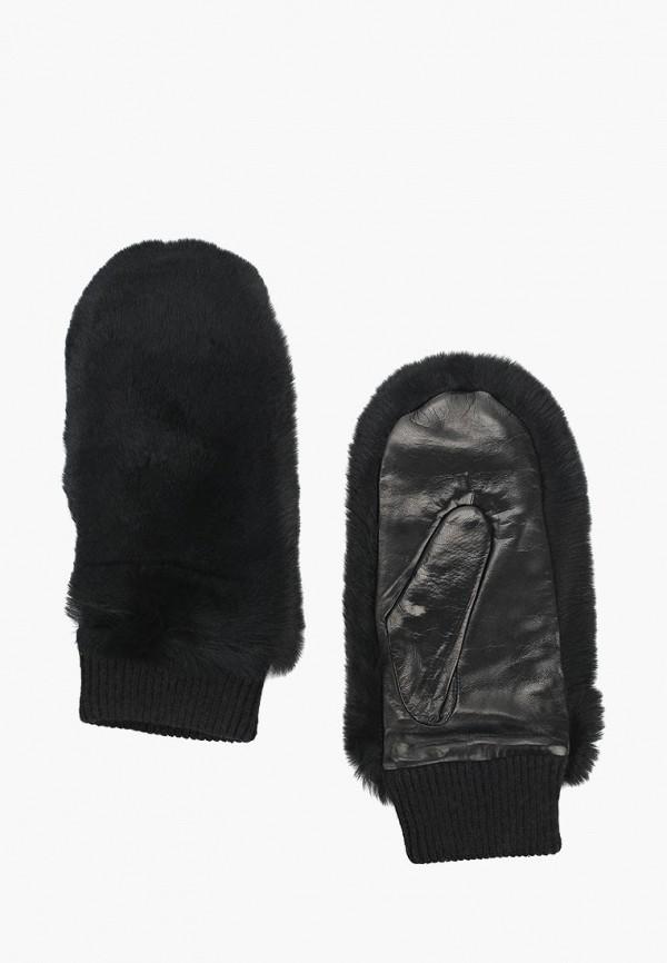 женские варежки dr.koffer, черные