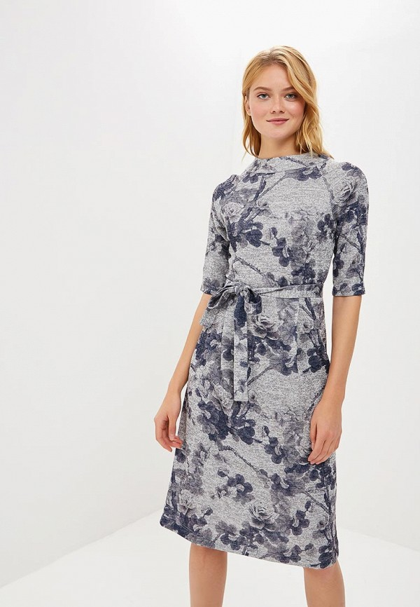 Купить Платье MARI VERA, MP002XW1GRYP, серебряный, Осень-зима 2018/2019