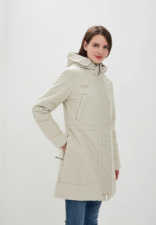 Куртка утепленная Stayer Stayer MP002XW1GS14 stayer куртка спортивная 409161 54 черный