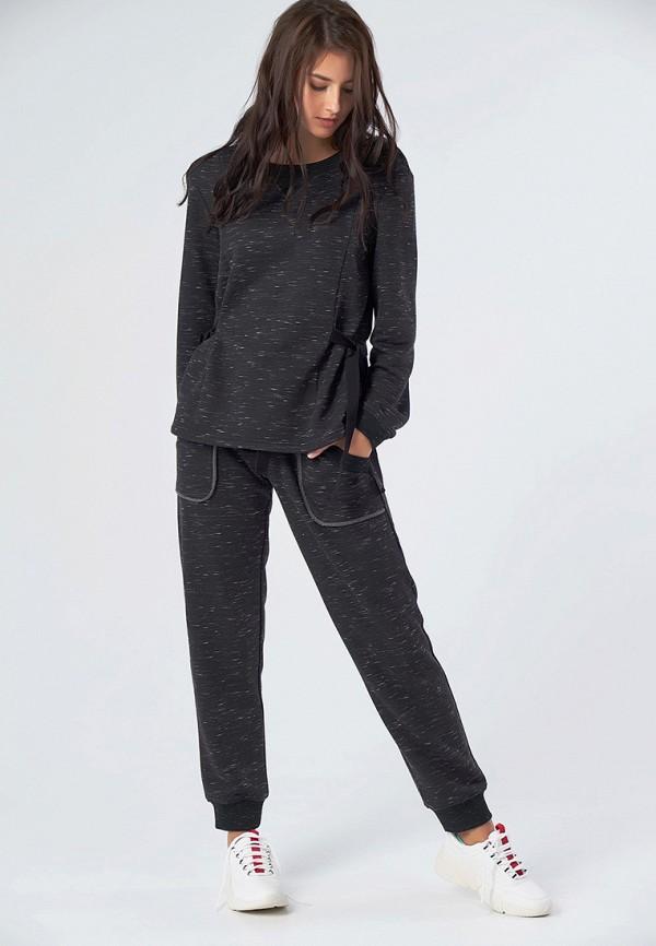 женский спортивные спортивный костюм fly, серый