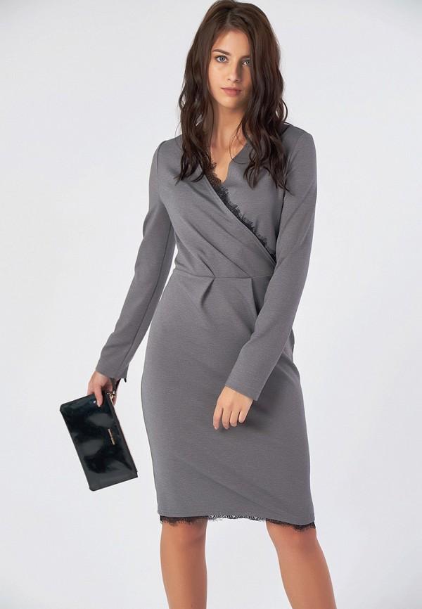 Купить Платье Fly, MP002XW1GS7N, серый, Осень-зима 2018/2019