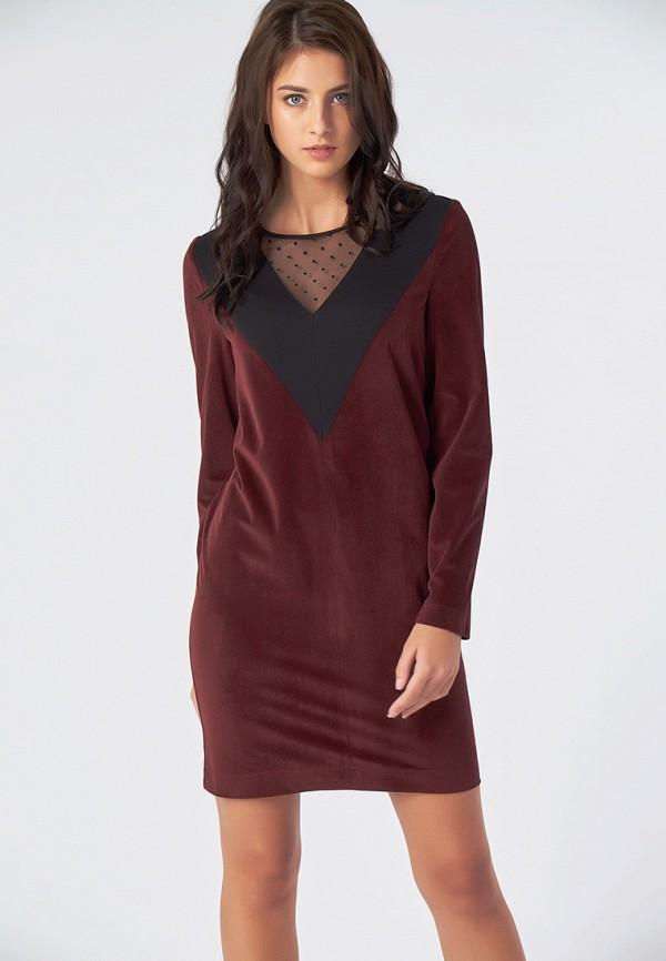 Купить Платье Fly, MP002XW1GS7R, бордовый, Осень-зима 2018/2019