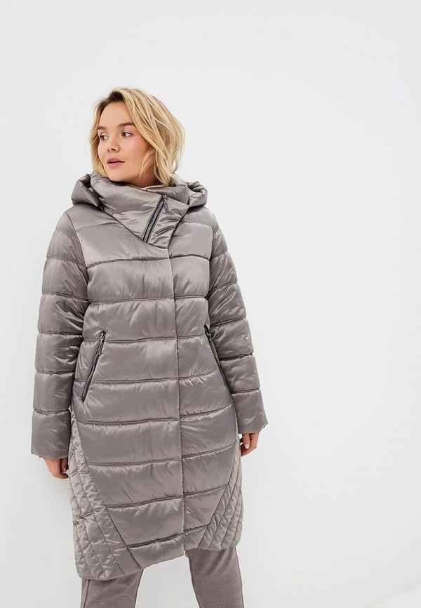 Купить Куртка утепленная Electrastyle, mp002xw1gs7z, серый, Осень-зима 2018/2019