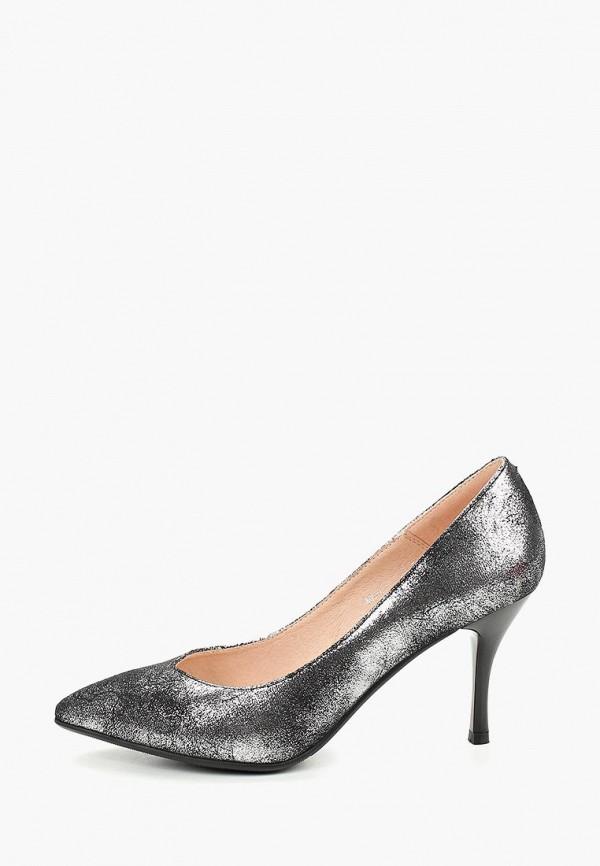 женские туфли dino ricci select, серебряные