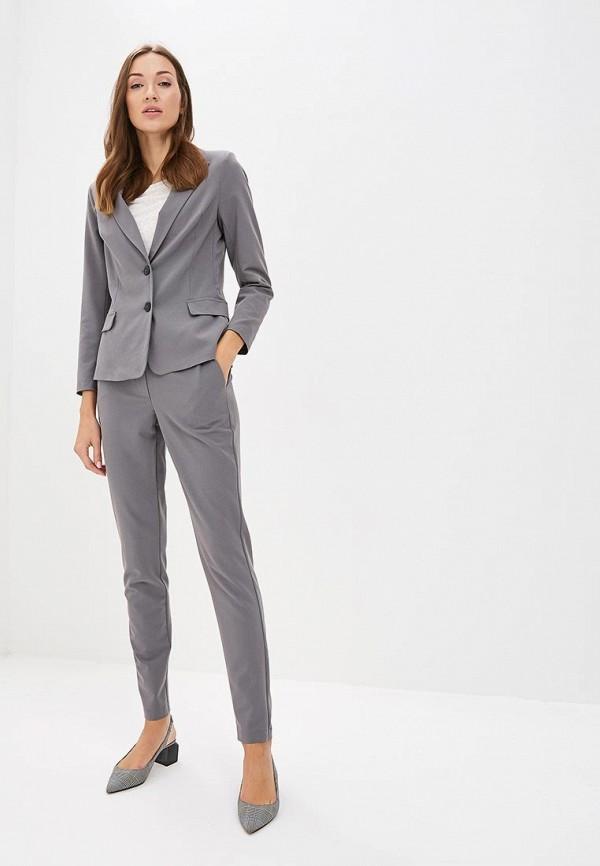 женский костюм sartori dodici, серый