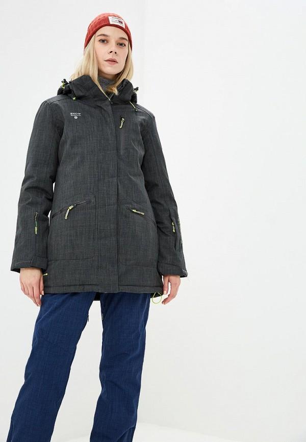 Купить Куртка горнолыжная Snow Headquarter, mp002xw1gsc7, серый, Осень-зима 2018/2019