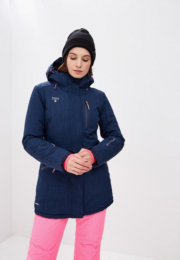 Купить Куртка горнолыжная Snow Headquarter, mp002xw1gsca, синий, Осень-зима 2018/2019
