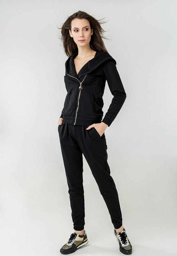 женский спортивный костюм ora, черный