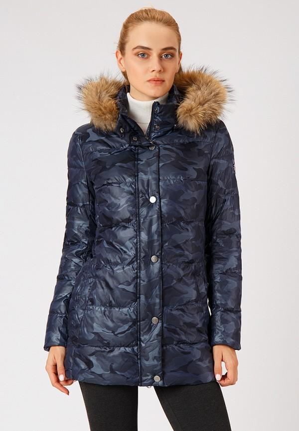женская куртка finn flare, синяя
