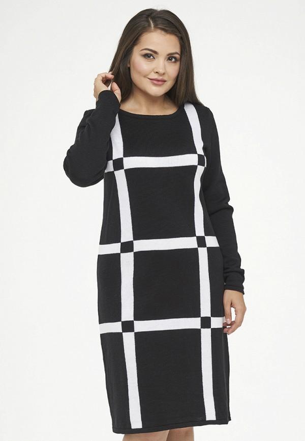 женское платье миди vay, черное