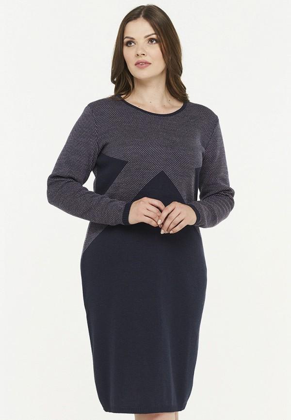 женское платье миди vay, синее