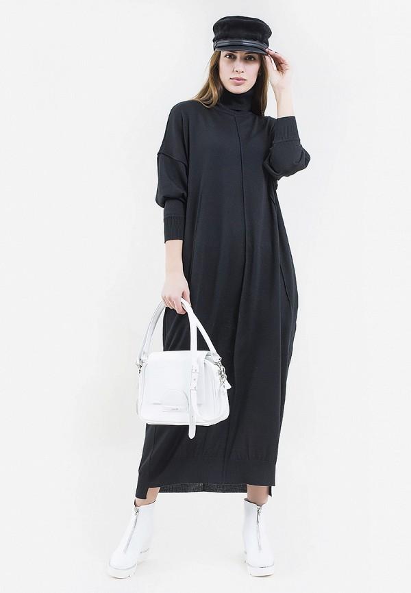 женское платье maxa, черное