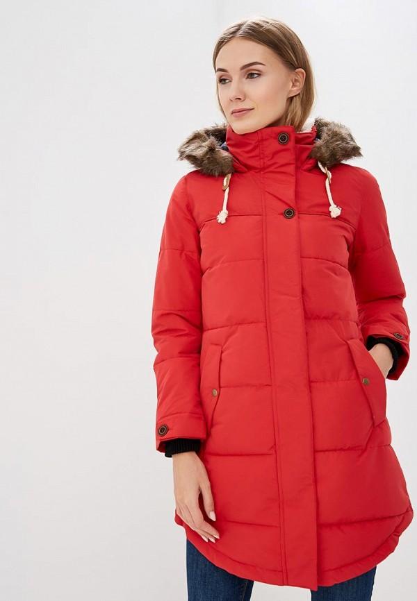 женская куртка colin's, красная