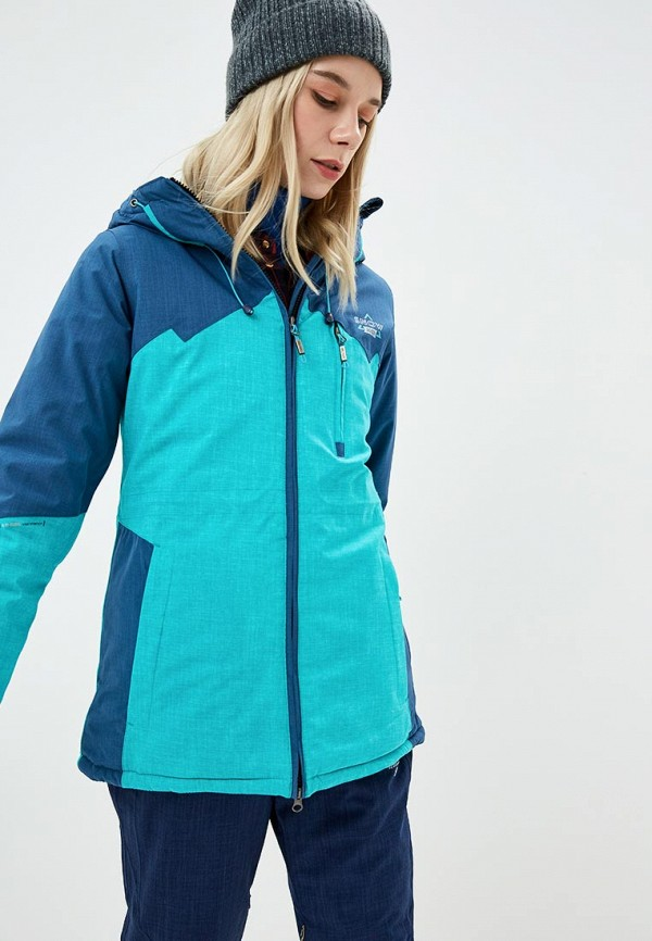 Купить Куртка горнолыжная Snow Headquarter, mp002xw1gsm3, голубой, Осень-зима 2018/2019