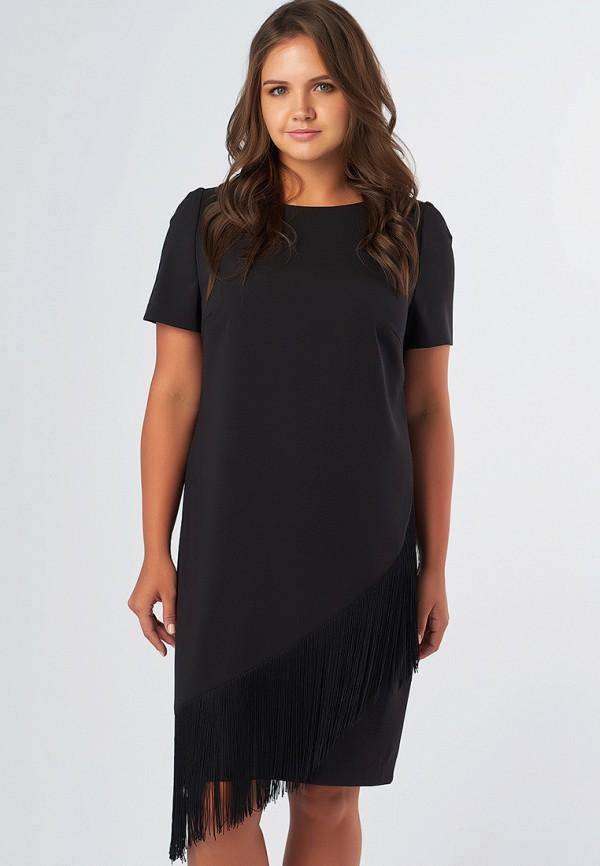 женское повседневные платье fly, черное