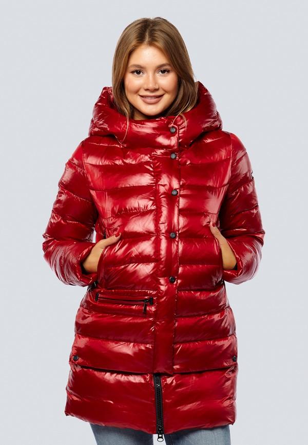 Купить Куртка утепленная Alyaska, mp002xw1gsoc, красный, Осень-зима 2018/2019
