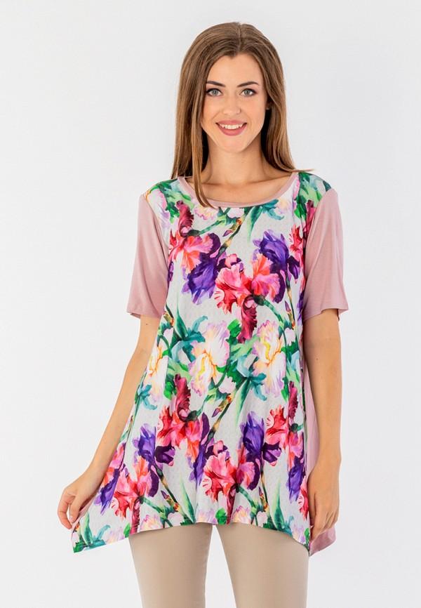 женская туника malena, разноцветная