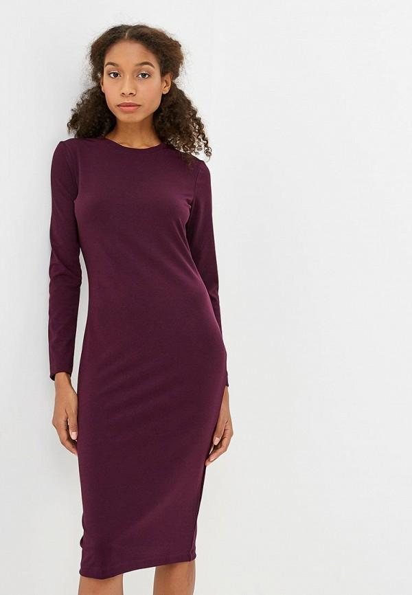 Купить Платье Incity, mp002xw1gsy6, фиолетовый, Осень-зима 2018/2019