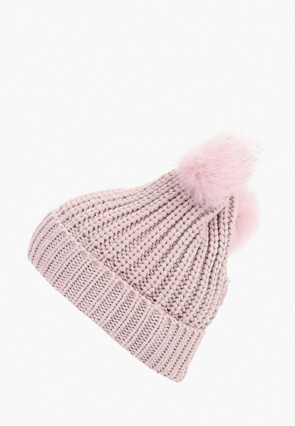 женская шапка colin's, розовая