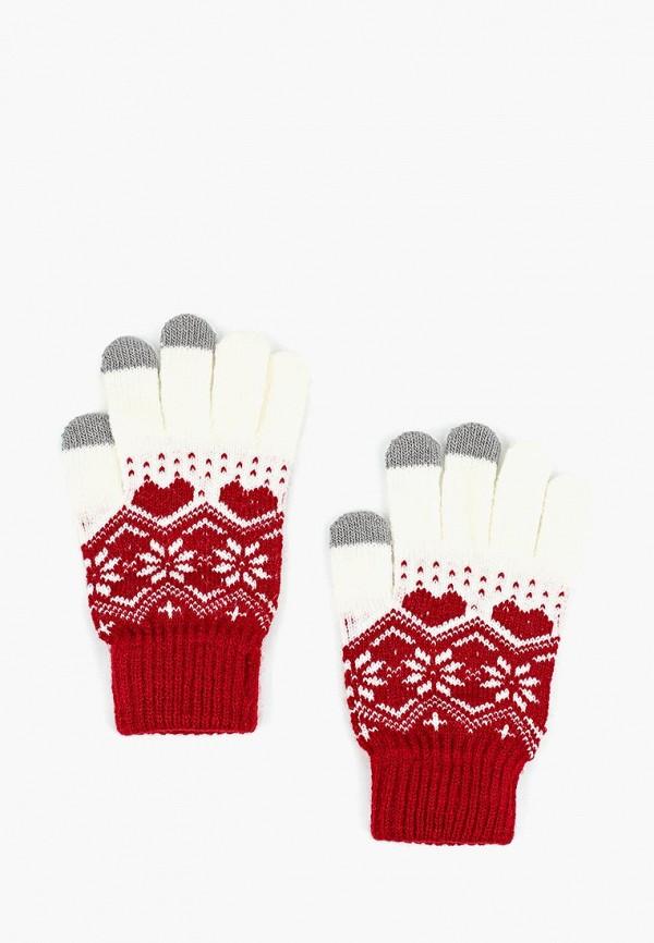 женские перчатки colin's, красные