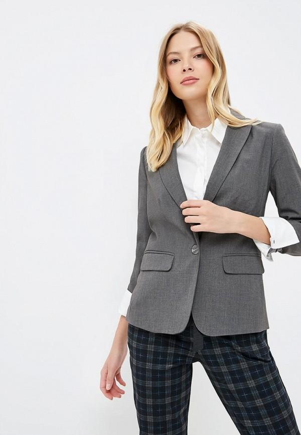 женский пиджак incity, серый