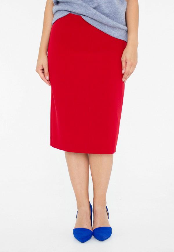 женская прямые юбка eliseeva olesya, красная