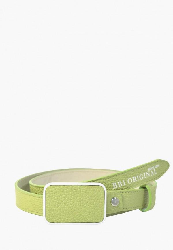 Купить Ремень BB1 зеленого цвета