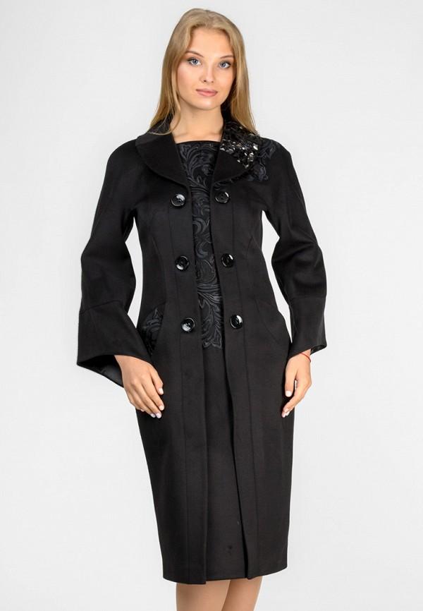 женское пальто raslov, черное