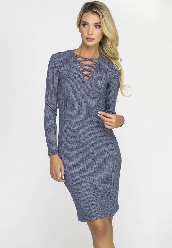 Купить Платье Gloss, MP002XW1GTWO, синий, Осень-зима 2018/2019