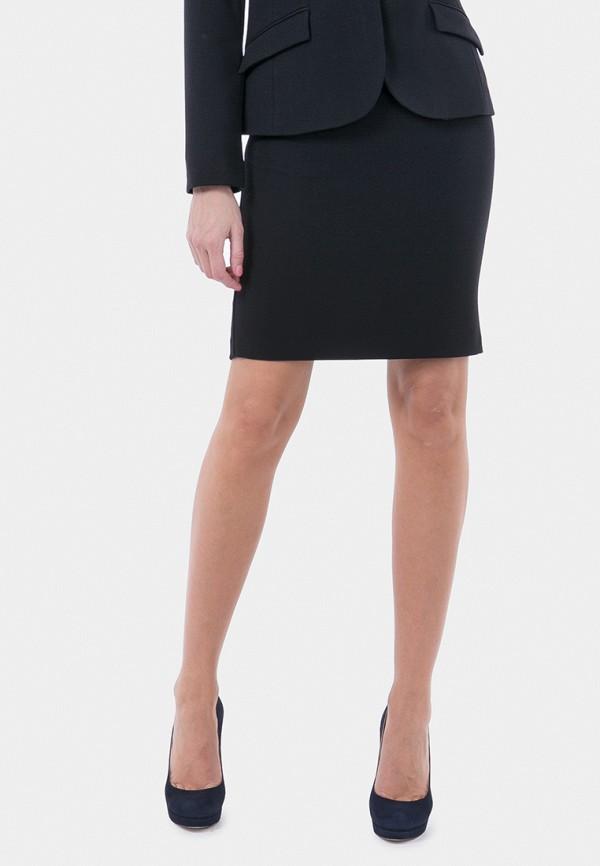 женская прямые юбка vladi collection, черная