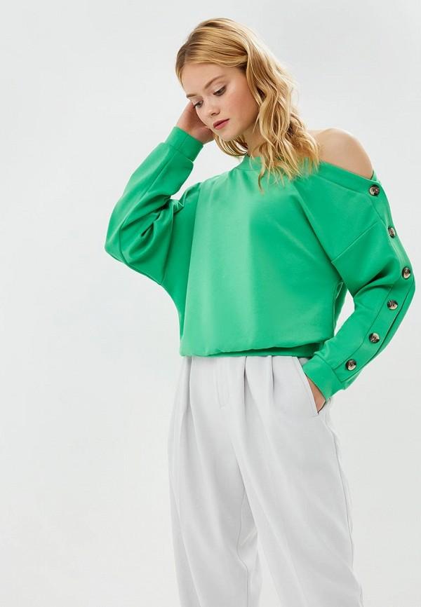 женский джемпер ruxara, зеленый