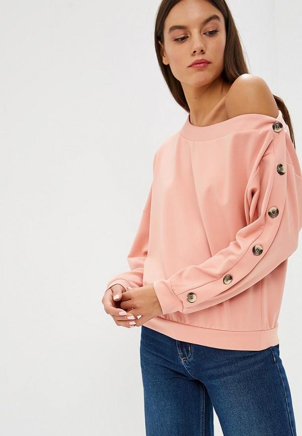 Свитшот RUXARA цвет розовый