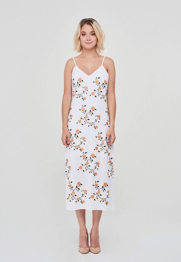 Купить Платье Elmira Markes, mp002xw1gu26, белый, Осень-зима 2018/2019