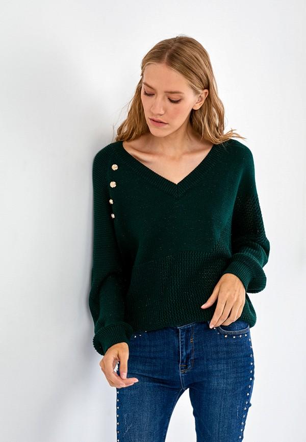 женский пуловер lime, зеленый
