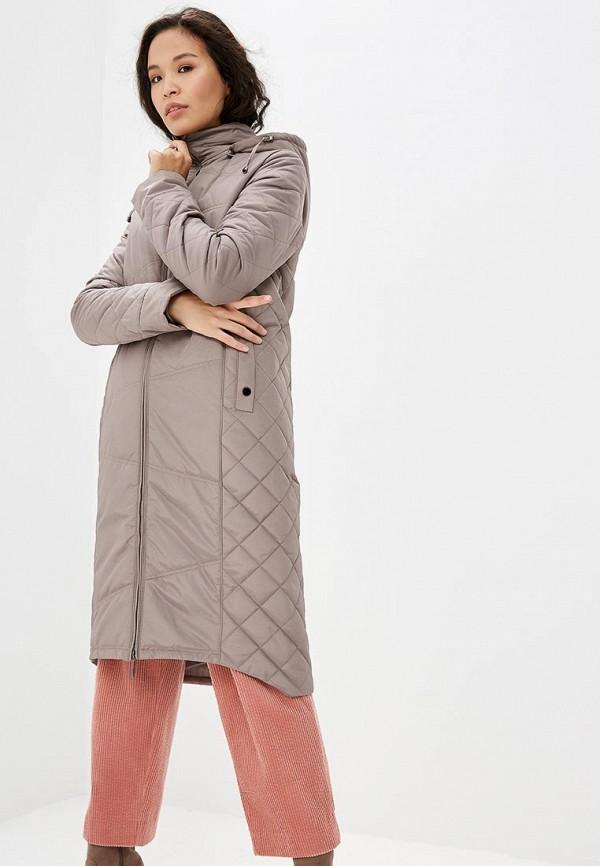 Купить Куртка утепленная DizzyWay, mp002xw1gu6a, бежевый, Осень-зима 2017/2018
