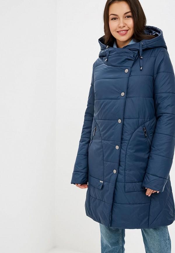 женская куртка dizzyway, синяя