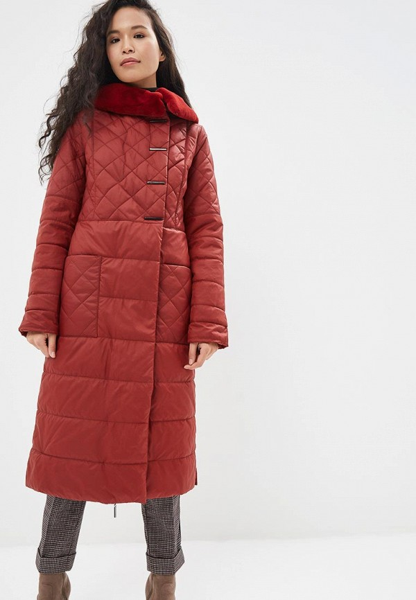 женская куртка dizzyway, бордовая
