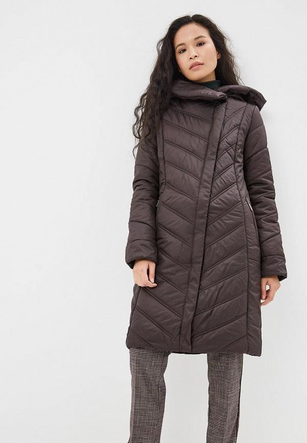 женская куртка dizzyway, коричневая