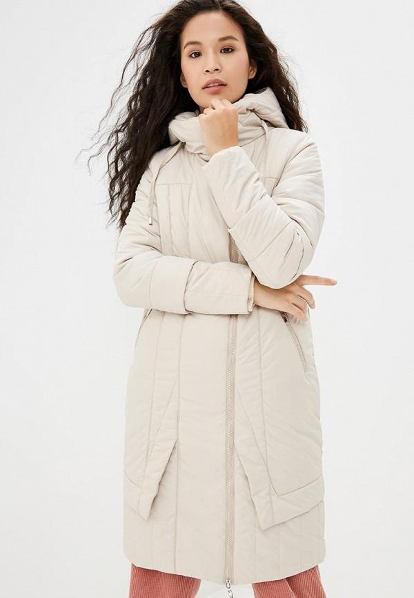 Купить Куртка утепленная DizzyWay, mp002xw1gu7l, бежевый, Осень-зима 2017/2018
