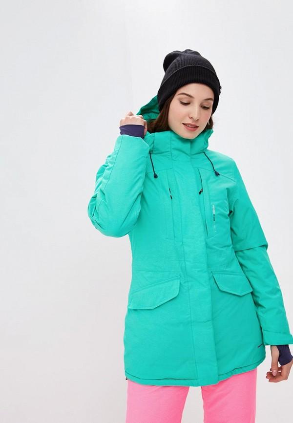 Купить Куртка горнолыжная Snow Headquarter, mp002xw1gu7u, зеленый, Осень-зима 2018/2019