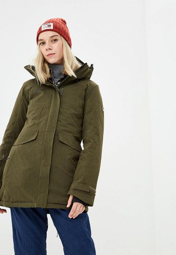 Купить Куртка горнолыжная Snow Headquarter, mp002xw1gu80, хаки, Осень-зима 2018/2019