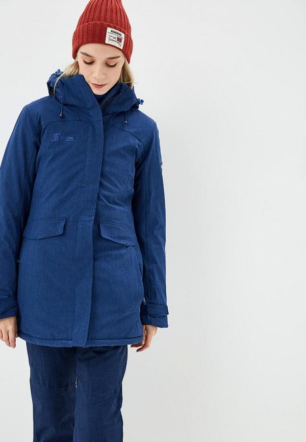 Купить Куртка горнолыжная Snow Headquarter, mp002xw1gu8a, синий, Осень-зима 2018/2019