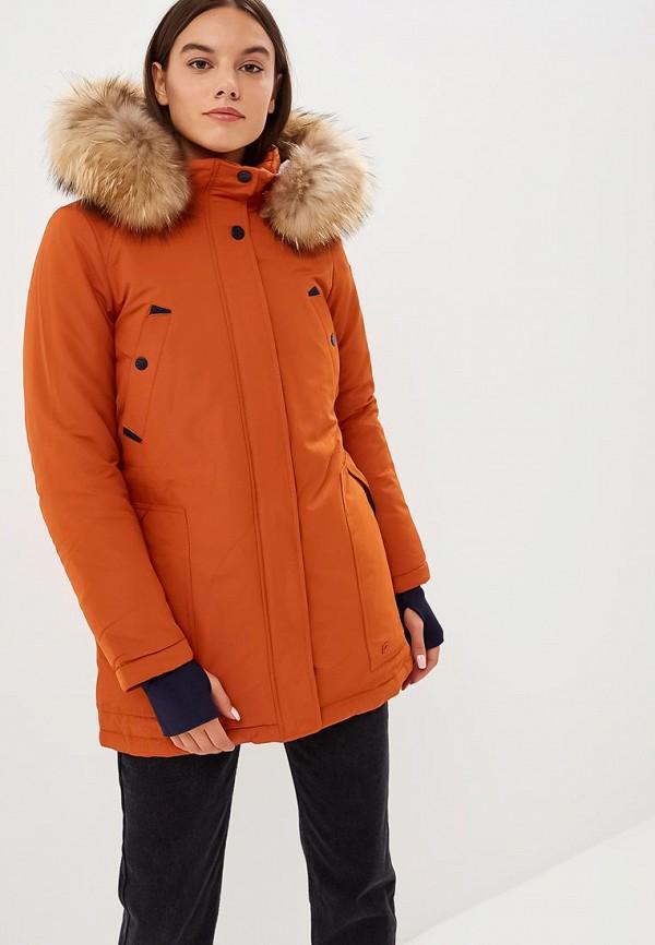 женская куртка snowimage, оранжевая