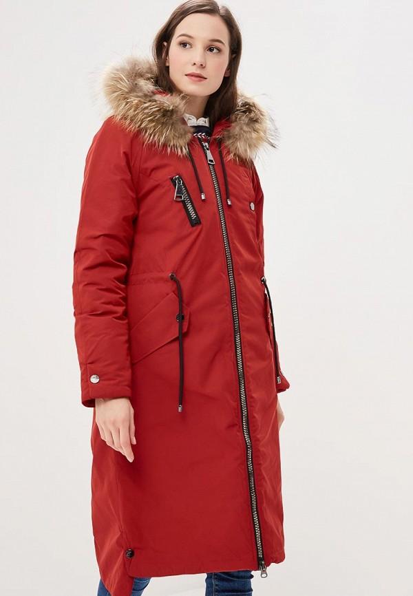 женская куртка snowimage, красная