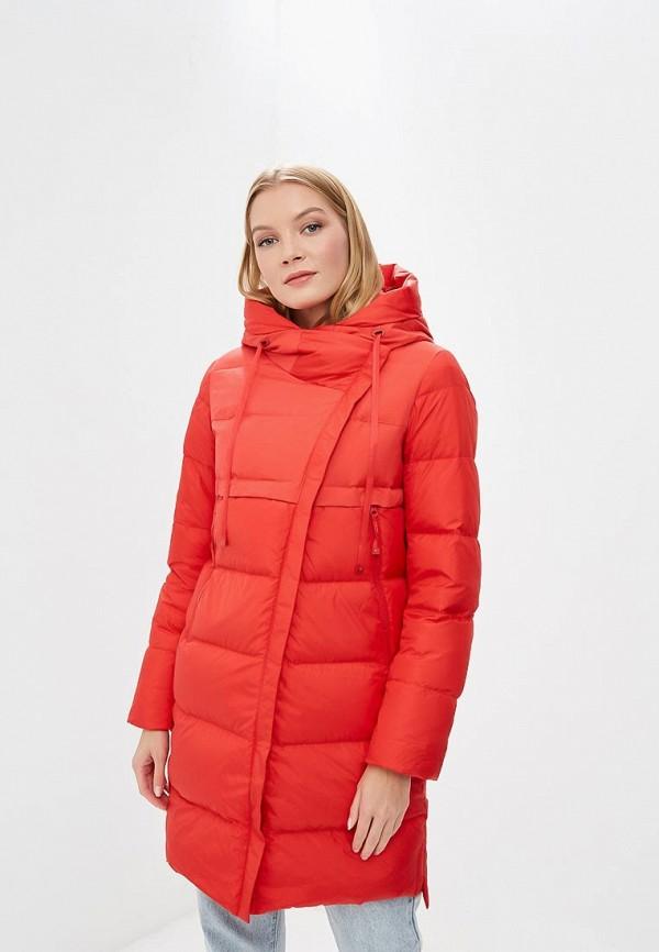 женский пуховик snowimage, красный