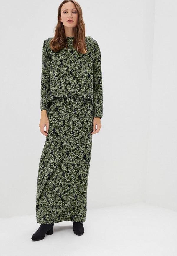 женский костюм sahera rahmani, зеленый