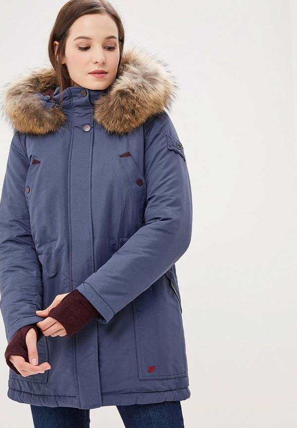 женская парка snowimage, синяя