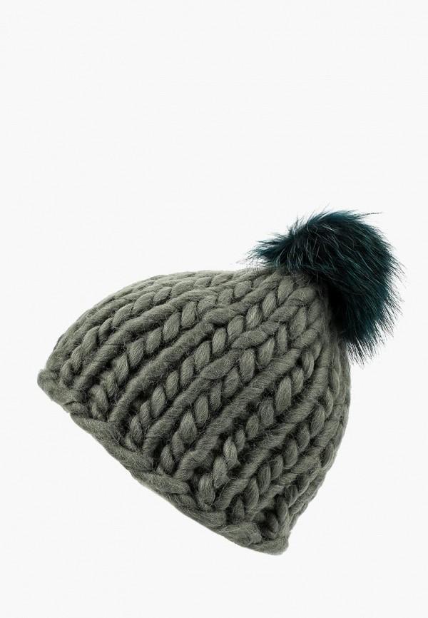 женская шапка oddwood, зеленая