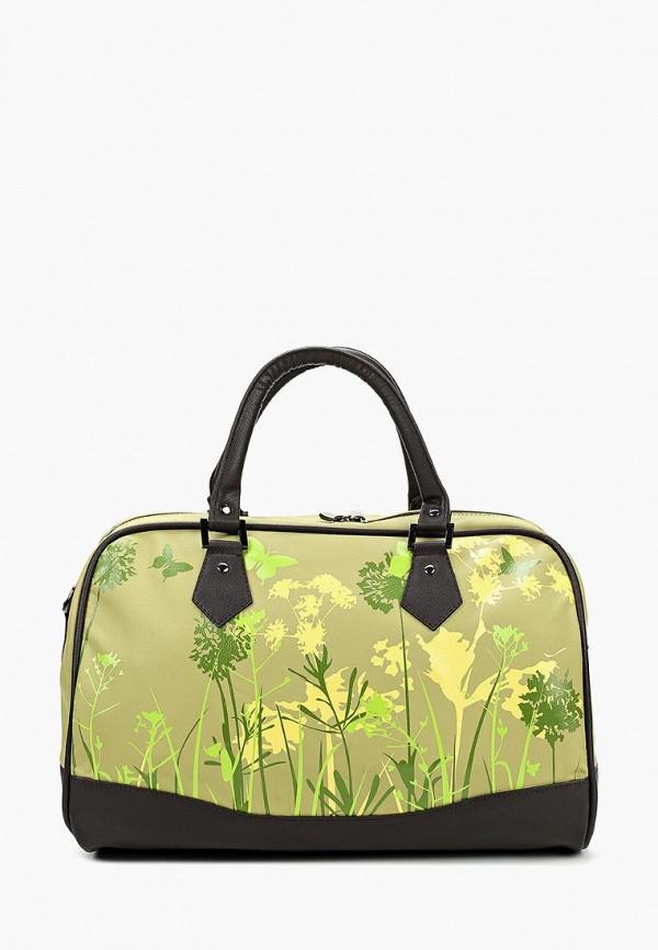 Дорожная сумка  зеленый цвета