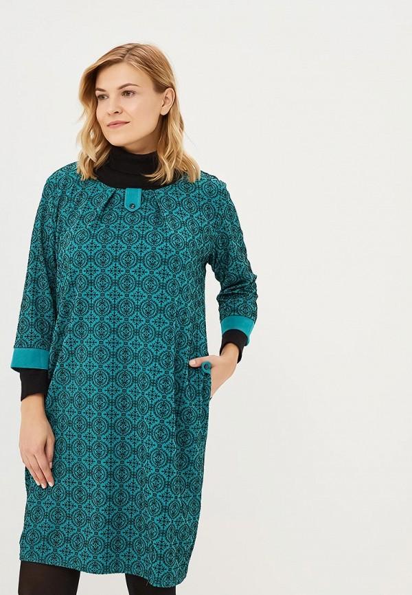 Купить Платье PreWoman, Солнечная поэзия, mp002xw1gv1m, зеленый, Осень-зима 2018/2019